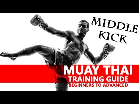 Muay Thai Training | Middle Kick | มวยไทย