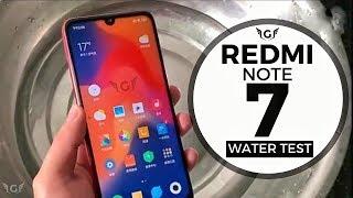 Redmi Note 7 Water Test
