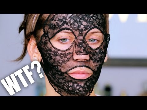 $330 LACE FACE MASK ... WTF ???