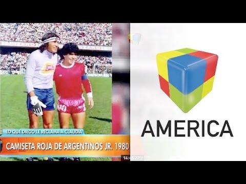 """Las """"joyitas"""" que le reclama Diego Maradona a Claudia Villafañe"""