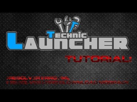 Technic Launcher -  Resolver erro FML e erro de download modpack
