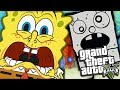 GTA 5 Mods - SPONGEBOB VS DOODLE BOB MOD (GTA 5 PC Mods Gameplay)
