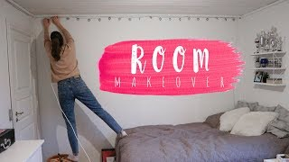ROOM MAKEOVER // REDOING MY ROOM 🔨