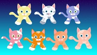 """Seven Kittens"" -- A lullaby for babies, toddlers, children, and grown-ups"