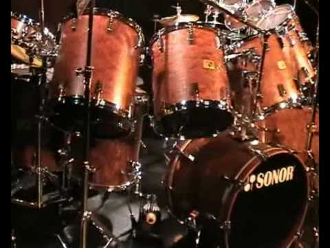 Biggest Sonor Signature Set Made For Heavy Drumming