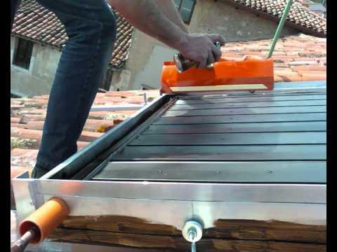 Pannelli solari fai da te 1 2 youtube - Piscina interrata fai da te ...