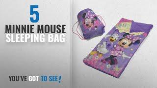 Top 10 Minnie Mouse Sleeping Bag [2018]: Disney Minnie Mouse Slumber Bag Set