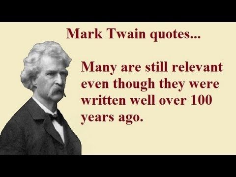 essay mark twain slavery