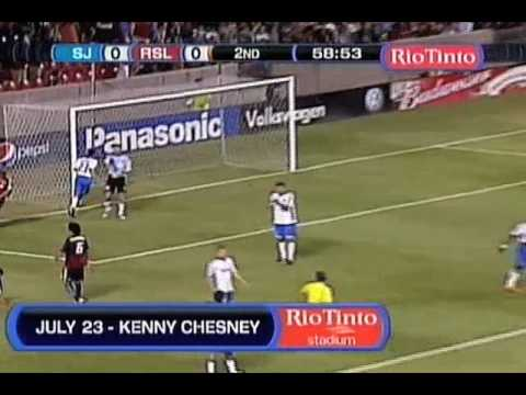 San Jose Earthquakes at Real Salt Lake - Game Highlights 07/03/09 Video