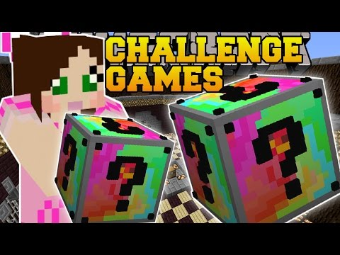 Minecraft: SLY UNLUCKY BLOCK CHALLENGE GAMES - Lucky Block Mod - Modded Mini-Game