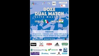 Dual Match Elite Maschile Italia vs India