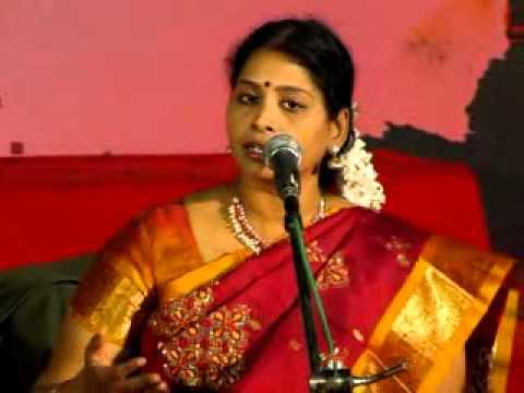 Kurai Ondrum Illai  By Smt.nithyashree video