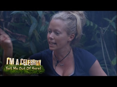 Kendra Wilkinson Argues With Edwina In Furious Bust Up | I'm A Celebrity...Get Me Out Of Here!