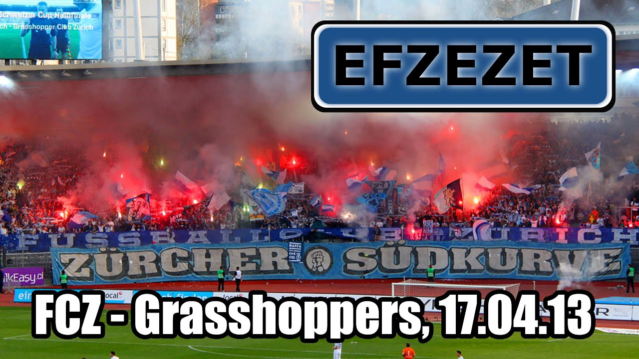 FCZ - Grasshoppers, Cup-Halbfinal - YouTube