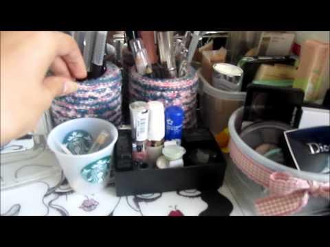 My make-up storage // Где и как я храню свою косметику