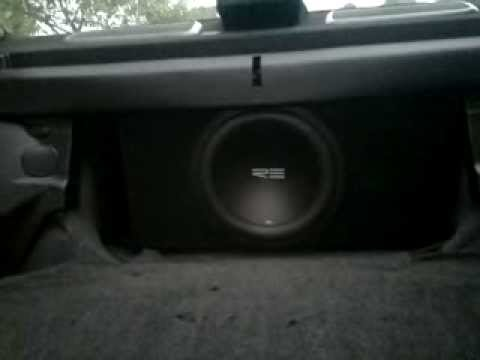 Re Audio Sxx 12 D2 - Honda Prelue Rockford video