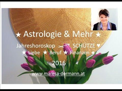 ★ Jahreshoroskop Schütze 2016 ★ Liebe ★ Beruf ★ Finanzen ★