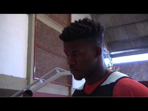 Chicago Bulls in Rio, Brazil: Jimmy Butler interview - 11.10.13