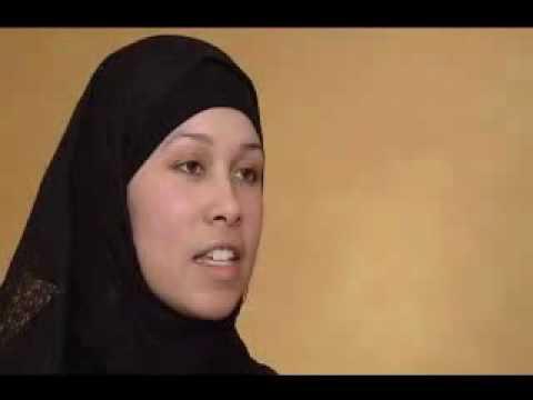 Gabar maraykan ah oo muslin noqotay ( Ameriban woman convert to an islam)