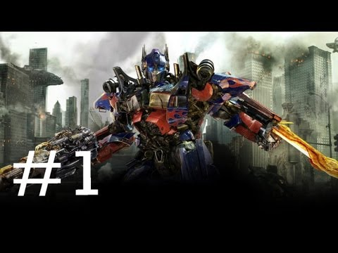 Transformers 3 Dark Of The Moon Game: Gameplay  Part 1