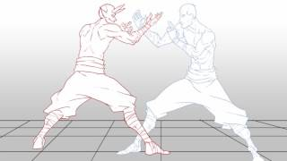 2D Animation | Fight Scene
