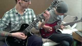 Bullet for my valentine - Spit you out (Dual guitar cover)