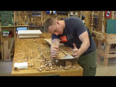 Who needs a big Jointer!  Scrub Plane and Power Planer