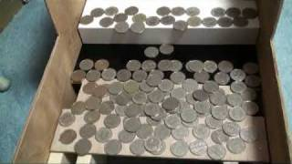 【自作】コイン落としゲーム -How to make a desktop coin dozer game machine-