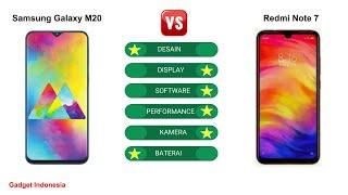 Samsung Galaxy M20 vs Redmi Note 7 | Mana Lebih Baik ?