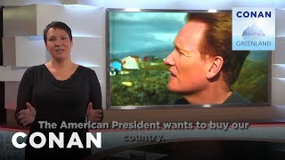 Conan Makes Headlines In Greenland - CONAN on TBS