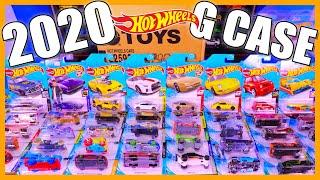 Unboxing 2020 Hot Wheels G Case 72 Car Box - Treasure Hunt Find!!!!