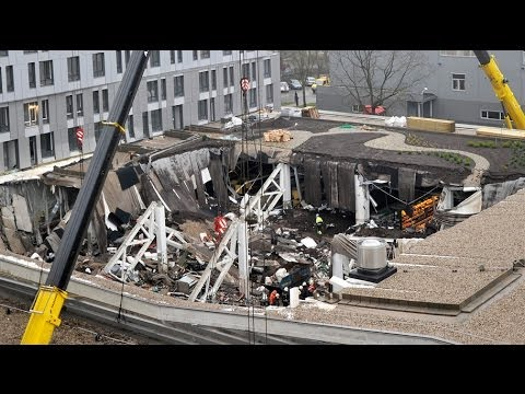 Latvia supermarket roof collapse kills 51