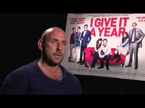 Dan Mazer talks to Cinema Sauce about I Give It A Year - Out on DVD and Blu-ray 3rd June 2013