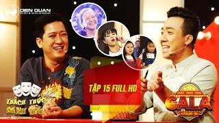 Video clip Thách thức danh hài 3| tập 15 full hd (gala 1): Trấn Thành cười không ngớt trước cụ bà 73 tuổi