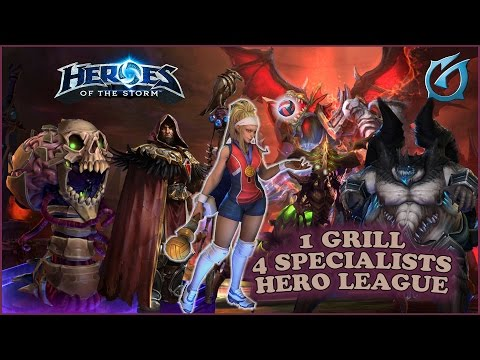 Grubby | Heroes of the Storm | Abathur (4 Specialist Magic) - Hero League - Dragon Shire