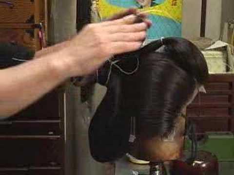 Geisha hair stylist