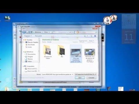 como converter video para audio mp3