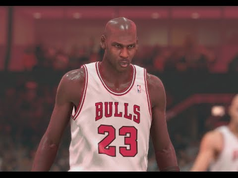 NBA 2K14 (PS4): 1995-96 Bulls vs 1995-96 Sonics - 4th Quarter
