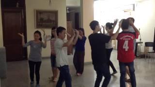 ຟ້ອນ ລາວກະແຊ ( Practice Dance LASI'13 )