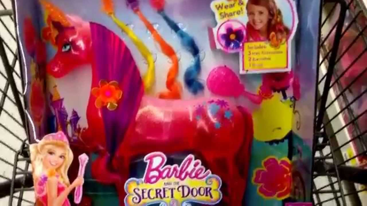 Barbie Unicorn Secret Door The Secret Door Unicorn