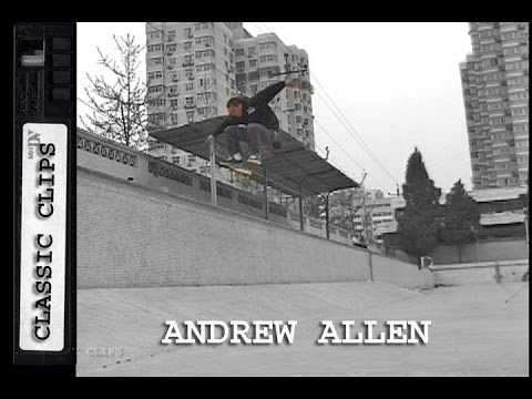 Andrew Allen Skateboarding Classic Clips #200 China