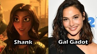 Characters and Voice Actors - Ralph Breaks The Internet