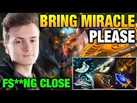 So F3k#ing Close Game Miracle Centaur Warrunner Dota 2