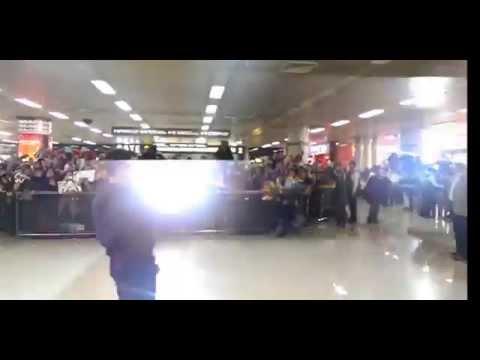 RDJ Arrives in South Korea