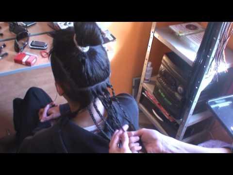 Particiones del pelo para extensiones (Trenzas, Rastas, ext. cosidas con hilo el
