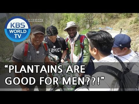 """OH. """"Plantains"""" are good for men?!!. I see..[Uncles Gathering Greens/ 2018.05.16]"""