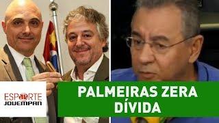 """PALMEIRAS zera dívida, e NOBRE é exaltado: """"MUDOU o CLUBE!"""""""