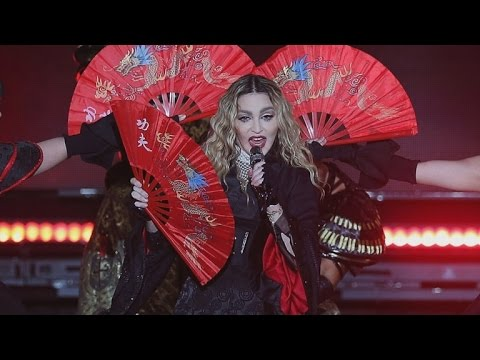 Madonna Accidentally Exposes Teenage Fan's Breast on Stage