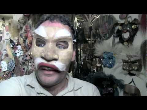 Mask makers of Mas, Bali Travel Video ...