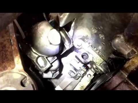 2007 Chevy Suburban crank shaft positioning sensor replacement.
